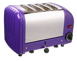 Purple 4 Slice Toaster