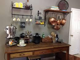 Rustic Kitchen Coffee Bar