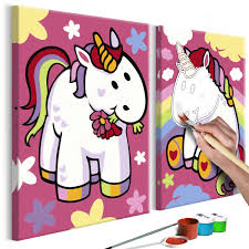 Puzzle Brilla En La Oscuridad Unicornios