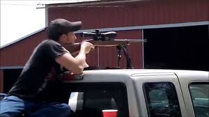 100 Sweet 22 Ruger 10 And Sweet Scope Vs Frying Pan And Tv At 150 Yards