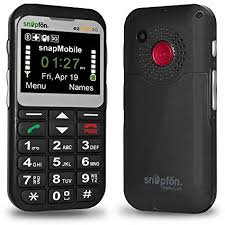 Snapfon ezTWO Senior Unlocked GSM Cell Phone SOS Button Hearing Aid patible