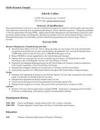 List Of Skills For Resume Fresh Munication Examples Resumes How To