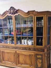 antike wohnzimmer vitrine schrank barock wunderschön