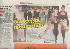 Click For The Article In Hurriyet Newspaper Dated June 13