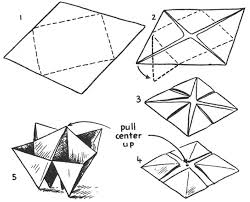 Origami Boxes How To Fold Paper Folding For Kids
