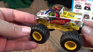 100 Monster Jam Toy Truck Videos HOT WHEELS MONSTER JAM Cleatus Vehicle