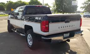 These Retro-Themed New Chevy Silverados Are The Coolest | News | Car ... Sca Chevy Silverado Performance Trucks Ewald Chevrolet Buick 2010 Z71 Lifted Truck For Sale Youtube Chevrolets New Medium Duty Cabover Trucks Headed To Dealers Dealer Fort Walton Beach Preston Hood Ram San Gabriel Valley Pasadena Los New 2018 2500 For Sale Near Frederick Md Westside Car Houston For Sale 1990 Chevrolet 1500 Ss 454 Only 134k Miles Stk 11798w Blenheim Gmc A Cthamkent And Ridgetown In Oklahoma City Ok David Dealer Seattle Cars Bellevue Wa Dealers Perfect 2017 Back View