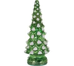 Seattle Christmas Tree Disposal by Set Of 3 Lit Twinkling Mercury Glass Trees By Valerie Page 1