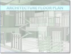 Floor Plan Template Powerpoint by Architectural Powerpoint Templates