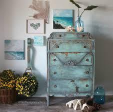 Tiger Oak Serpentine Dresser by Furniture Design Ideas Featuring Blue General Finishes Design Center