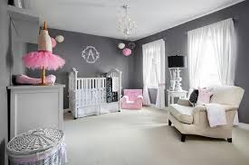 Pops Of Pink Add A Feminine Touch To The Posh Nursery From Lisa Petrole
