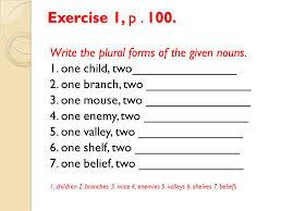 Nouns 1 Kinds of Nouns ppt