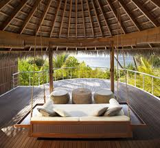 100 W Retreat And Spa Maldives Maldives Beach Oasis Upper Deck