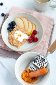 karottenkuchen porridge