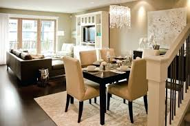 Living Room And Dining Combination Ideas Decorating With Good