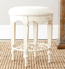 Acrylic Vanity Chair With Wheels by Vanity Stools Skirted Vanity Stool With Back This Might Be A