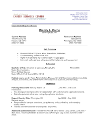 Resume Experience Free Excel Templates