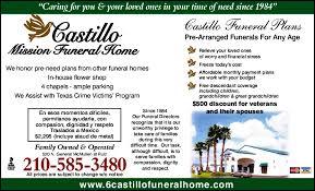 Castillo Mission Funeral Home 520 N General Mcmullen Dr San