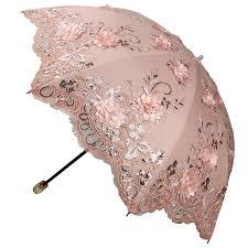 Shed Rain Umbrella Amazon by Woman U0027s Umbrella Anti Uv Lacework Flower Princess Parasol Folding