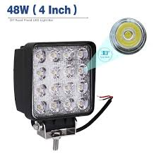 Led Light Bar YITAMOTOR Led Pod Light,4Pcs 4 Inch 48W Square Flood ... 4 Inch 48w Square Led Work Light Off Road Spot Lights Truck Pin By Danny On Under Leds Pinterest Grilles Black 8w 55 Inch Led Forklift Safety Blue Light Safe Zroadz Offroad Kit 2018 5x7 Headlight Daymaker Sealed Beam Replacement Dot 201518 Automatic Engine Bay Hood F150ledscom Hightech Lighting Rigid Industries Adapt Bar Recoil How To Install Lite 2013 Jeep Wrangler Jk Diy Youtube 185w Car Led Lamp Truck 9 Inch Headlight 12v 24v Tractor Automotive Household Trailer Rv Bulbs Mini Roadtech Services Inc