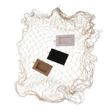 details zu diy deko bilderrahmen fischernetz netz wanddekoratio für wohnzimmer