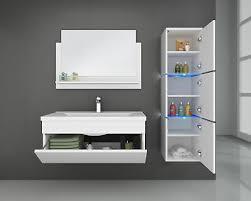 home deluxe badmöbel badezimmermöbel badezimmer waschtisch schrank spiegel set