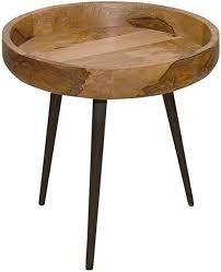 casamia beistelltisch couchtisch wohnzimmer tisch rund ø 40 50 cm amsterdam metall gestell schwarz matt größe durchmesser 50 höhe 46 cm
