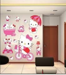hello chambre enfants stickers muraux grand hello autocollants filles