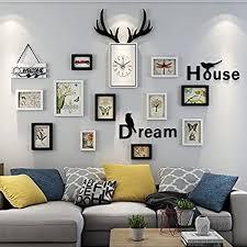 wall frame combo wohnzimmer wand aufkleber