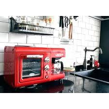 Nostalgia Microwave Red Electrics Retro 3 In 1 Breakfast Station Kitchen