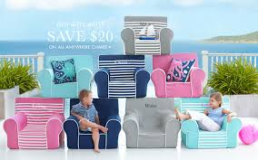 Pottery Barn My First Anywhere Chair Insert by Pottery Barn Anywhere Chairs Gray Harper My First Anywhere Chair
