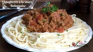 la cuisine pour les d饕utants spaghettis à la sauce bolognaise plat rapide et facile pour