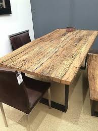 esstisch tisch thar 200x100cm altholz massiv industrie design sit neu ebay