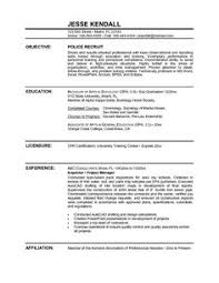 Police Officer Resume Template Free Creative Design Nypd
