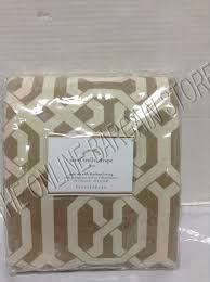 Pottery Barn Curtains Blackout by Pottery Barn Terri Trellis Drapes Panels Curtains Blackout Liner