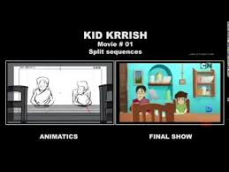 KID KRRISH Movie01 Storyboard Split Sequence