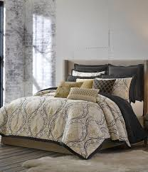 Vince Camuto Bedding by Candice Olson Releve Scroll Jacquard Comforter Set Dillards