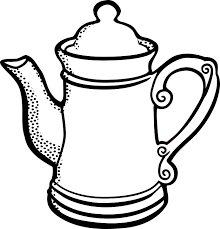Coffee Pot Tea Tee Vessel Willow