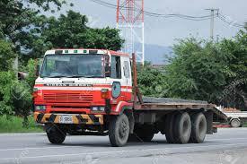 100 Old Nissan Trucks CHIANGMAI THAILAND AUGUST 18 2016 Private Diesel
