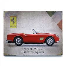 Signature Ferrari Wooden Sign VPAWSIGN06 Vintage Parts Usa Muscle ...