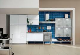 kitchen fascinating modern blue kitchen decoration using small