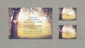 Love Tree Rustic Wedding Invitations