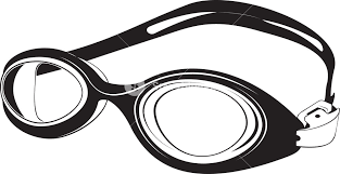 Swimming Goggles Silhouette Royalty Free Stock Image Storyblocks