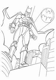 Mickey Mouse Batman Coloring Pages Title