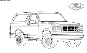 Lifted Ford Truck Coloring Pages# 2444312