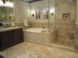 bathroom how to install travertine tile on bathroom walls