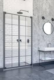 doccia doha pendeltür in nische dusche industrial design