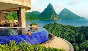 100 J Mountain St Lucia Ade S Most Romantic Luxury Resort