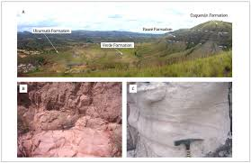Trough Cross Bedding by Stratigraphy Of The Roraima Supergroup Along The Brazil Guyana