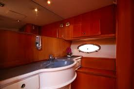 45 Ft Bathroom by Arabian Princes 45 Ft Luxury Yachts Dubai